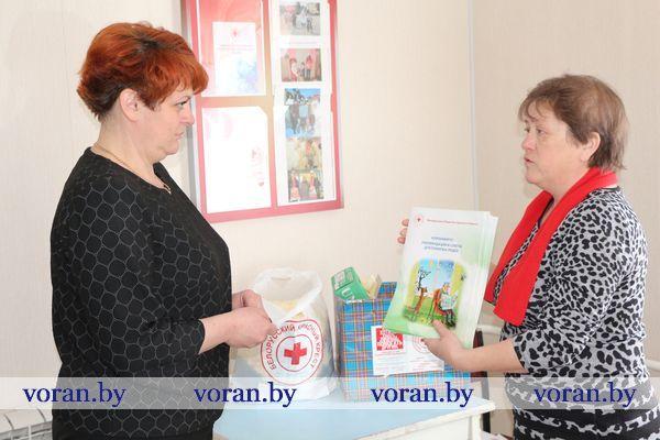 Помощь социальным работникам оказала районная организация БОКК