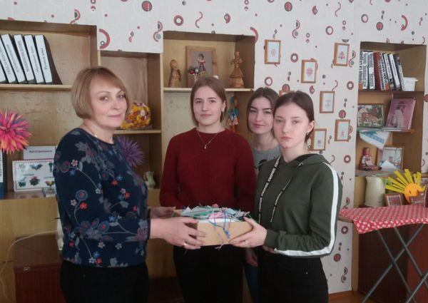 Школьники Вороновщины присоединяются к акции «Поделись  теплом  души  своей!»