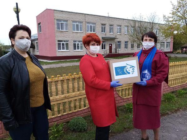 К «Марафону поддержки» присоединились активистки Белорусского союза женщин Вороновщины