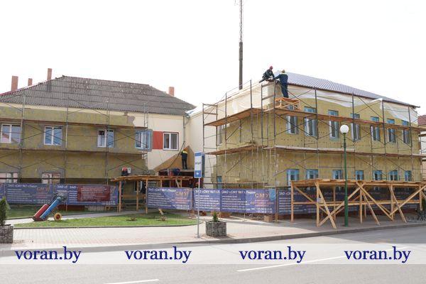 Большое обновление Вороновского РОВД