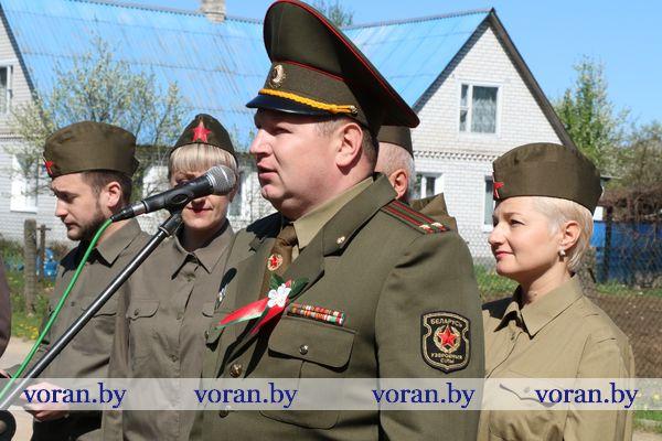 В рамках республиканской акции «Солдаты Победы» поздравления принимали ветераны Великой Отечественной войны Вороновщины (+ВИДЕО)