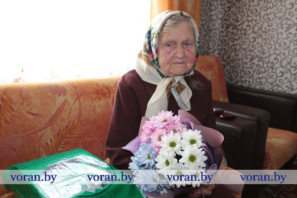 CENTURY IN LABOUR: а resident of Voronovo celebrated the 100th anniversary