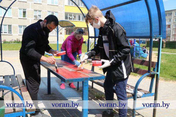 Чтобы сделать свою малую родину лучше, молодежь Вороновщины присоединилась к областному проекту «#раЗАм з бацькамі»