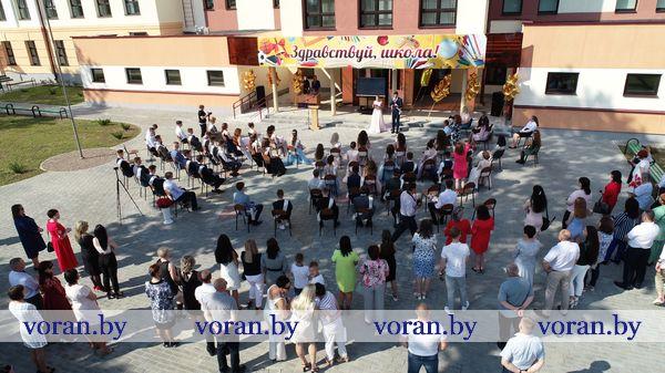 В камерном формате прошли выпускные торжества на Вороновщине (Дополнено)