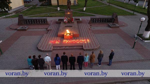 В Вороново почтили память жертв Великой Отечественной войны (+ВИДЕО)