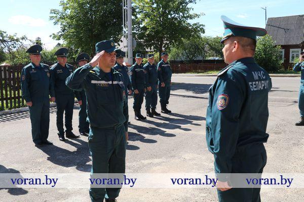 Спасатели Вороновщины награждены к профессиональному празднику