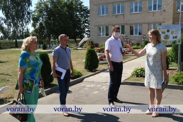 На Вороновщине проходит мониторинг готовности учреждений образования (Фотоотчет)