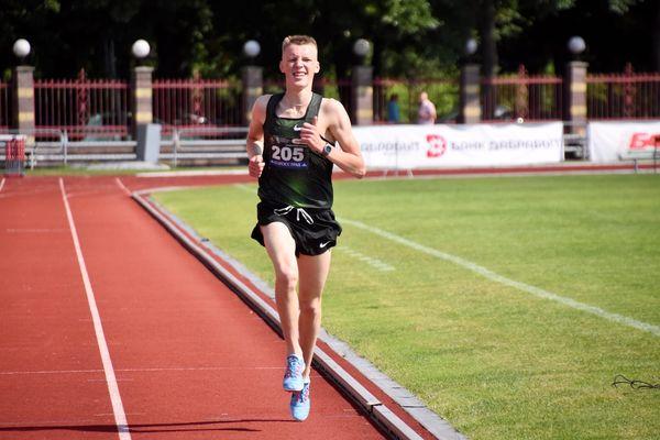 Две золотые медали завоевал Дарек Дудо из Вороновского района на Олимпийских днях молодежи Республики Беларусь по легкой атлетике