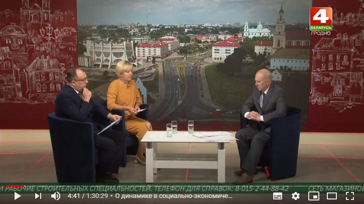 Разговор с губернатором Владимиром Кравцовым (Видео)