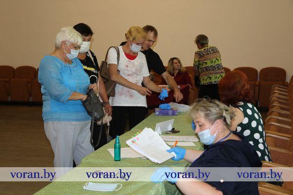 Выборы. Как проходит второй день досрочного голосования в аг. Больтиники?