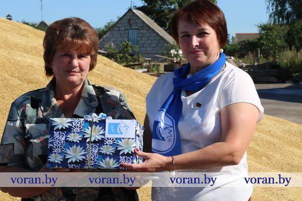 «БСЖ — женщинам жатвы». На Вороновщине прошла традиционная районная акция