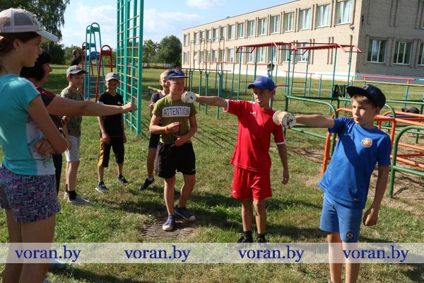 Активно. Весело. Спортивно. Юные легкоатлеты Вороновщины отдыхают в спортивном лагере