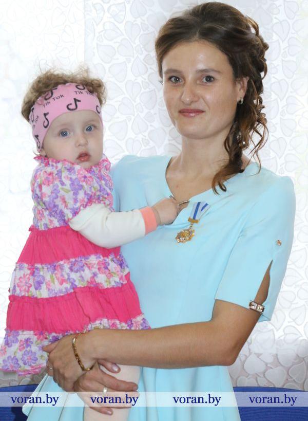 Орден Матери вручили жительнице Радуни